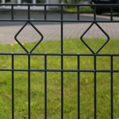Metall-Zäune