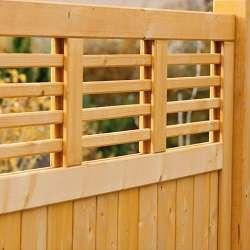 Hervorragend Sichtschutz Holz - Varianten | zaunsysteme-direkt.de UV38