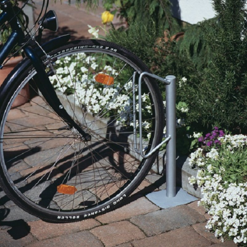einzel fahrradhalter zum einbetonieren 11 00. Black Bedroom Furniture Sets. Home Design Ideas