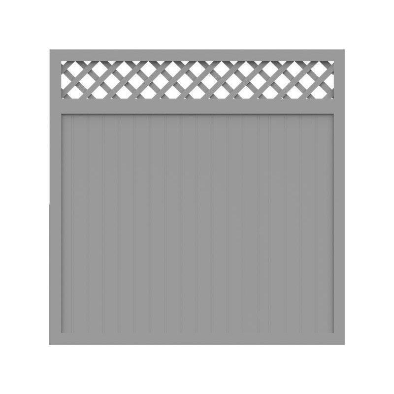 sichtschutzzaun caro linear weiss 180 x 180 cm 369 90. Black Bedroom Furniture Sets. Home Design Ideas
