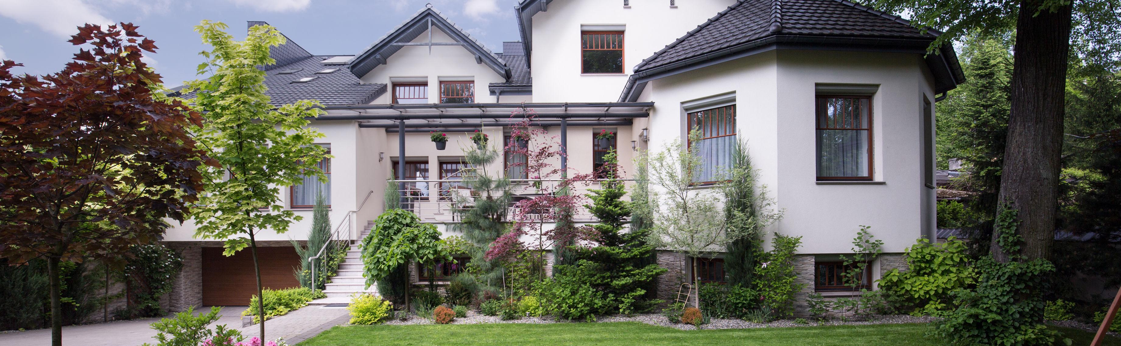 Vorderseite Haus