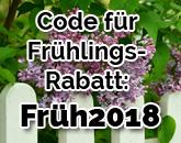 Jetzt Frühlings-Rabatt-Rabatt sichern!