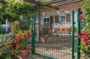 Gartentor für Dino Pro Ds, Rundpfosten