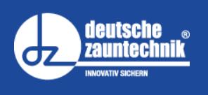 Deutsche Zauntechnik von AOS Stahl GmbH & Co. KG