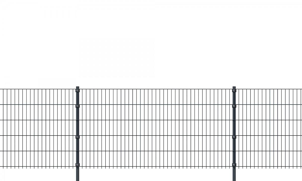 Doppelstabmatten 6/5/6 (Länge 2 Meter) hadra