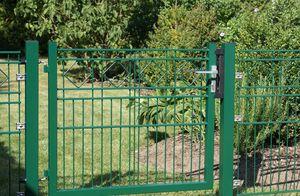 Gartentor grün hadra