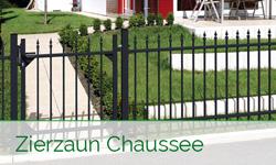Alu-Zaunsystem Chaussee von GAH Alberts