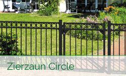 Alu-Zaunsystem Circle von GAH Alberts