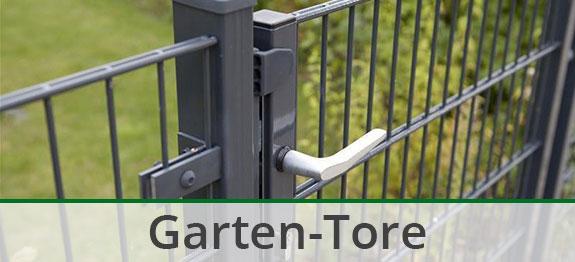 Gartentore für Metall-Zaunsysteme und Holz-Zäune